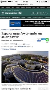 Will Thailand deregulate and fully utilize the sun's power