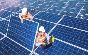 enserv group solar installation