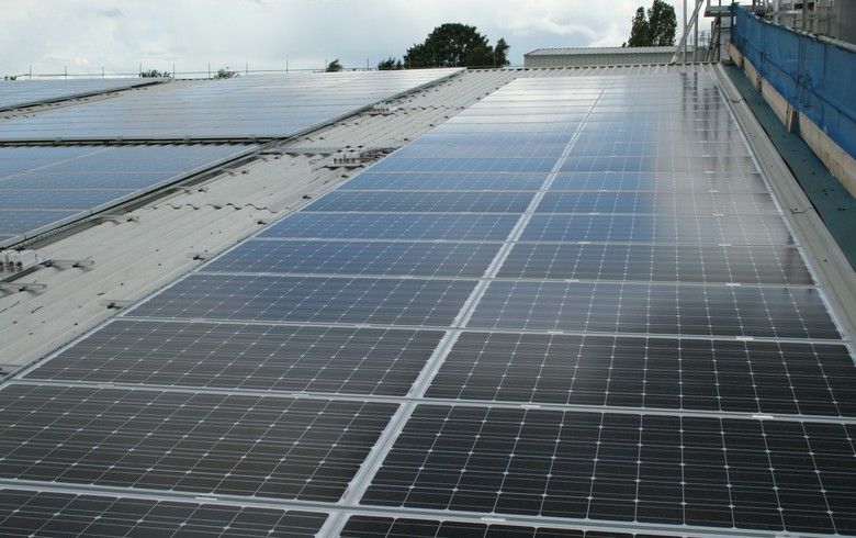 Toshiba Corp Solar Project in Thailand
