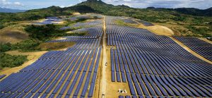 PV solar array in the Philippines