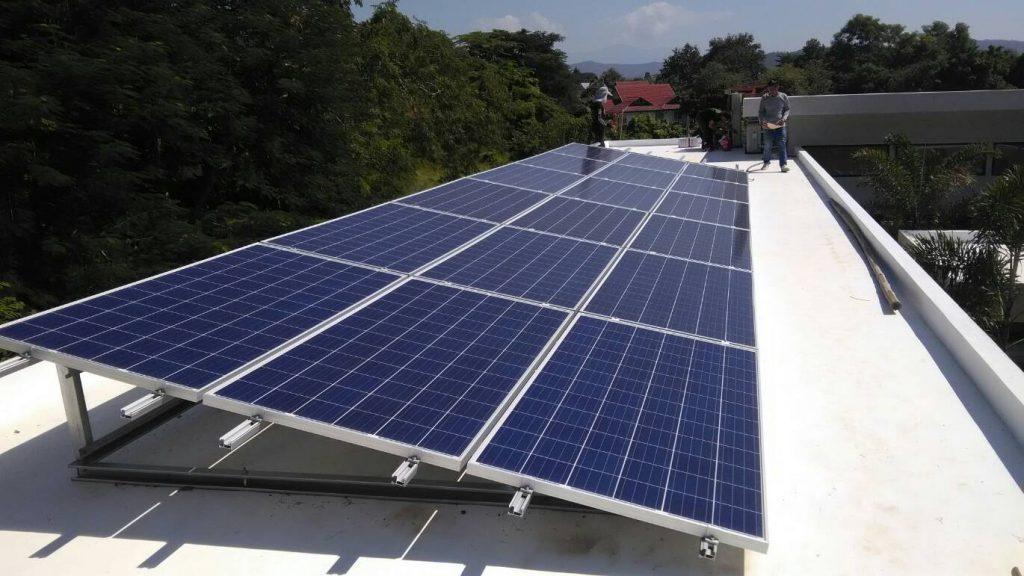 Eyekandi Solar Installation, Chiang Mai, Thailand