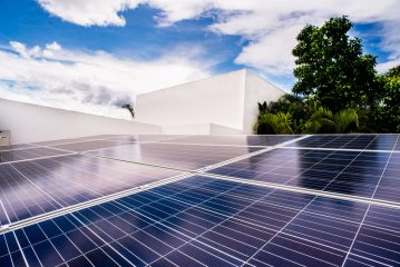 Solar Flat roof